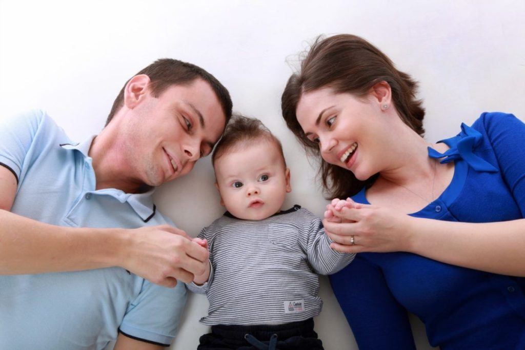 משפחה מאושרת