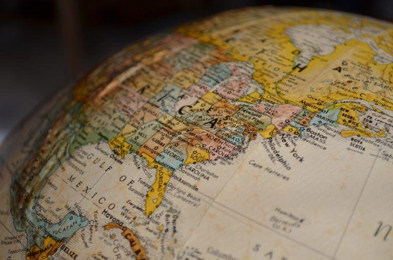 יבוא ויצוא בינלאומי גלובוס כדור הארץ
