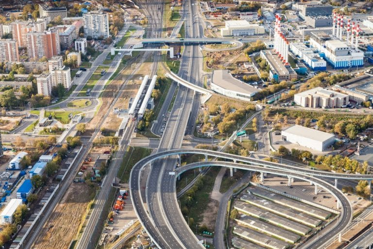 Third Ring Road and Railway Central Circle