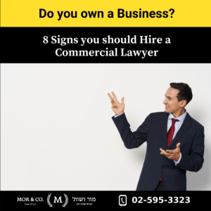 עמוד הבית Copy of 8 signs you need a commercial lawyer