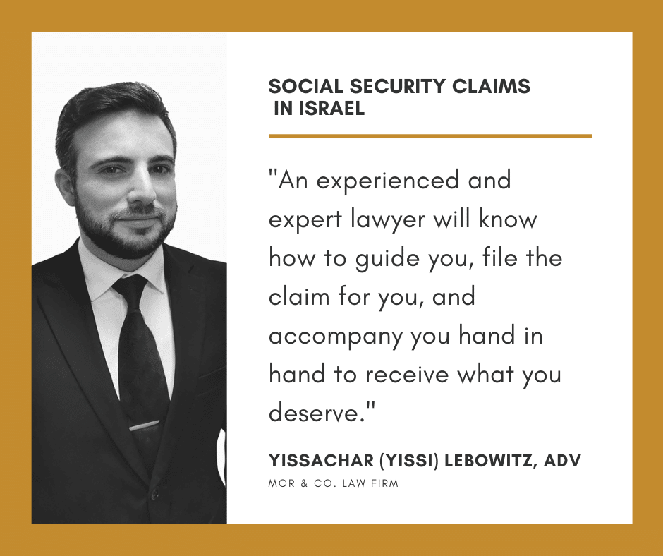 Social Security Claims In Israel - All you need to Know Social Security claims in Israel